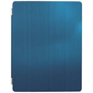 Metallic Deep Ocean Blue iPad Cover