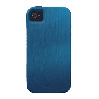 Metallic Deep Ocean Blue iPhone 4/4S Cover