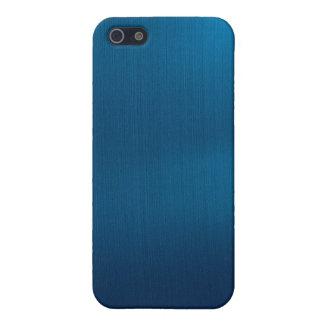 Metallic Deep Ocean Blue iPhone 5 Cases