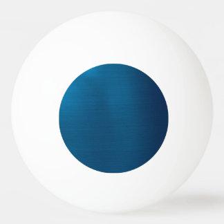 Metallic Deep Ocean Blue Ping Pong Ball