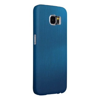 Metallic Deep Ocean Blue Samsung Galaxy S6 Cases