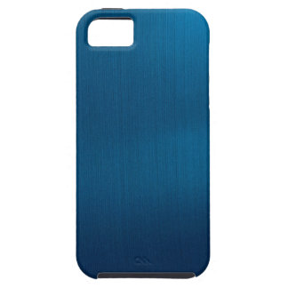 Metallic Deep Ocean Blue Tough iPhone 5 Case
