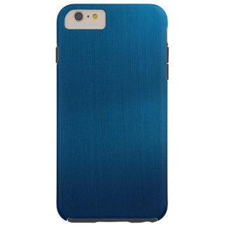 Metallic Deep Ocean Blue Tough iPhone 6 Plus Case