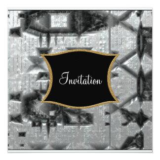 Metallic  feel Invitation any Occasion