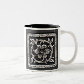 Metallic Graphic Two-Tone Coffee Mug