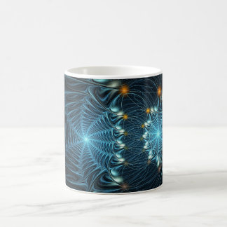 Metallic Spider Webs Coffee Mug