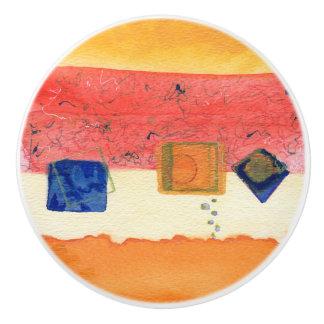 Metamorphosis Abstract Art Ceramic Drawer Pull