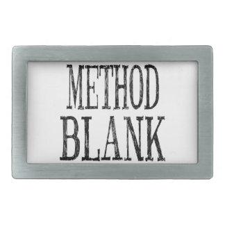 Method Blank Belt Buckle