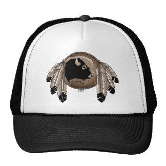 Metis First Nation Cap Buffalo Wildlife Cap