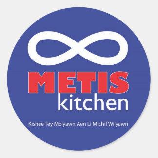 Metis Kitchen Stickers
