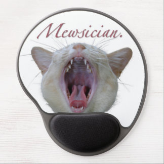 Mewsician Gel Mouse Pads