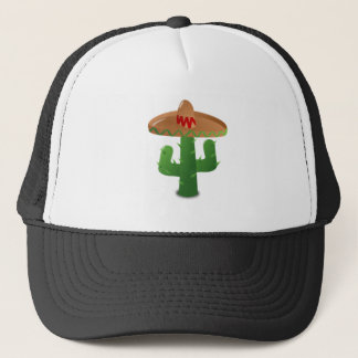 Mexican Cactus Trucker Hat