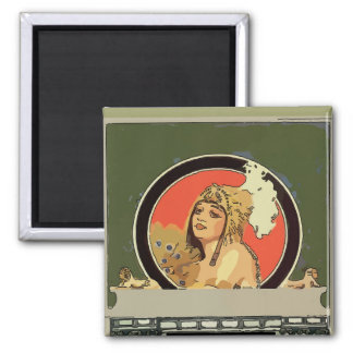 Mexican Cleopatra Tile add name Magnet