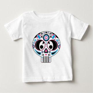 Mexican Day of the Dead 'Dia de Muertos' Skull Baby T-Shirt
