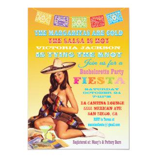 Mexican Fiesta Bachelorette Party Invitation
