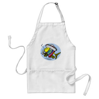 Mexican Fish in a circle Aprons