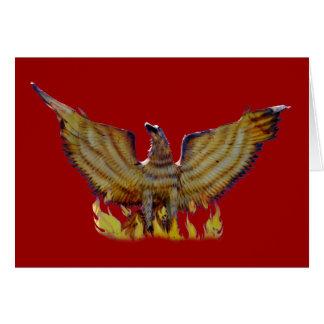 Mexican golden eagle card