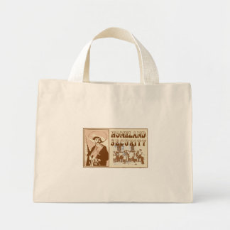 Mexican Homeland Security Mini Tote Bag