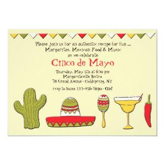 Mexican Icons Cinco de Mayo Invitation