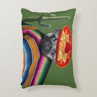 Mexican pug dog decorative cushion
