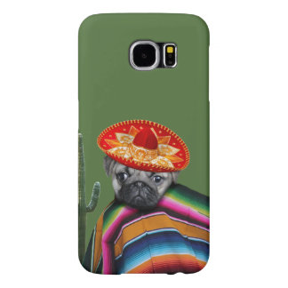 Mexican Pug Dog Samsung Galaxy S6 Case