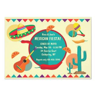 Mexican Theme Cinco de Mayo Party Invitation