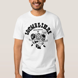 mexican wrestling lucha libre11 tee shirts
