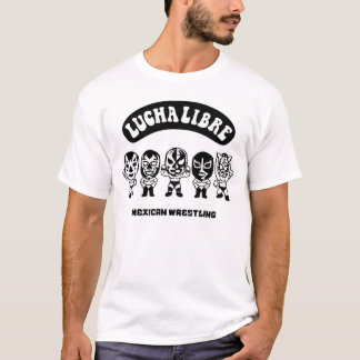 mexican wrestling lucha libre3 T-Shirt