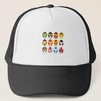 Mexican Wrestling Masks Trucker Hat