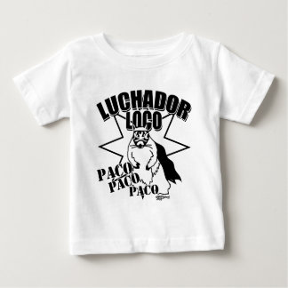 Mexican Wrestling Squirrel Paco Baby T-Shirt