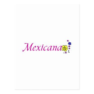 Mexicana Postcard