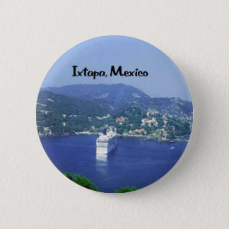 Mexico and Central America 6 Cm Round Badge
