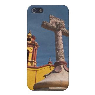 Mexico, Bernal. View of Iglesia de San Sebastian iPhone 5/5S Cover