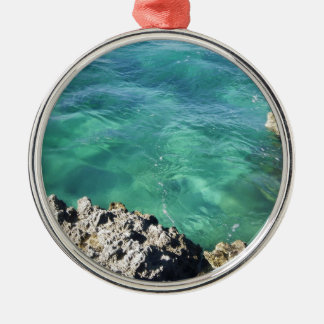 Mexico Blue/Green Ocean Christmas Ornament