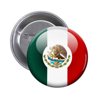 Mexico Flag 2.0 6 Cm Round Badge