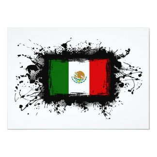Mexico Flag Card