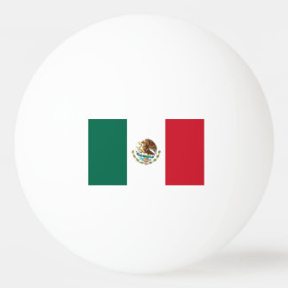 Mexico flag ping pong balls for table tennis