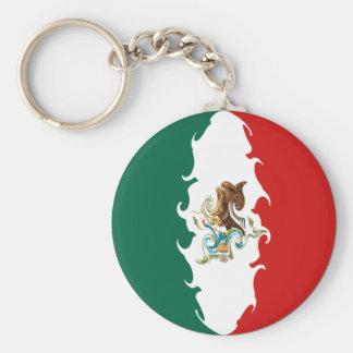 Mexico Gnarly Flag Keychain
