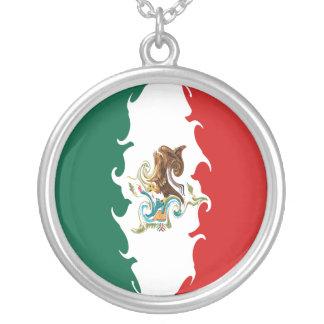 Mexico Gnarly Flag Pendants