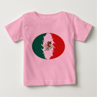 Mexico Gnarly Flag T-Shirt