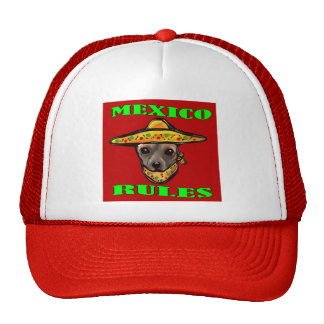 MEXICO RULES CAP
