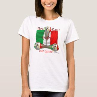 Mexico Soccer Game On Spaghetti Strap T-Shirt