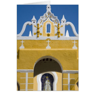 Mexico, Yucatan, Izamal. The Franciscan Convent Card