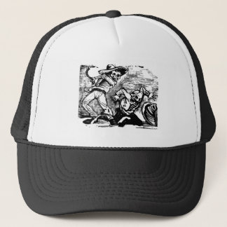 "Mexico's ""Day of the Dead."" circa 1894 Trucker Hat"