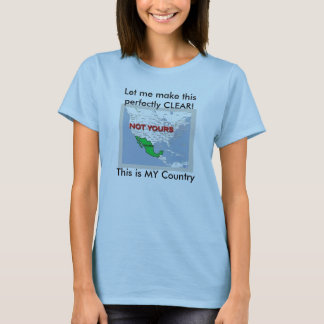 mexicotee, Let me make this perfectly CLEAR!Thi... T-Shirt
