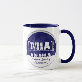 MIA Blue Coffee Mug