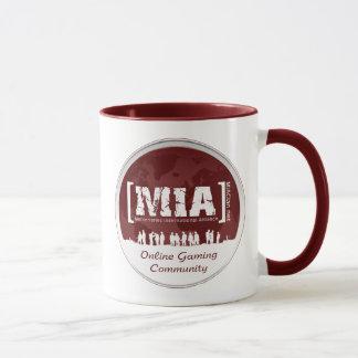 MIA Coffe Cup Logo Red