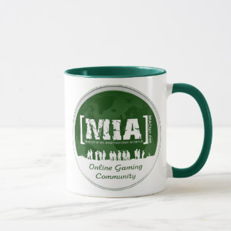 MIAClan.net Green Coffee Mug
