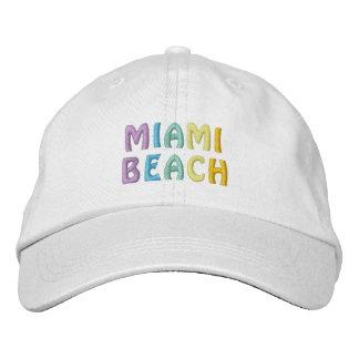 MIAMI BEACH cap Embroidered Hats