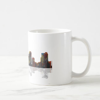 Miami Florida Skyline Coffee Mug